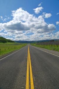 Eine freie Straße