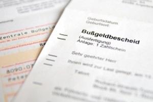 Ein Zuegenfragebogen kann Teil des Bußgeldverfahrens sein.