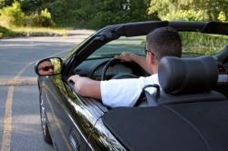 Fahren im Cabrio