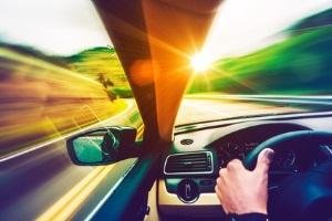 Dänemark: Auf der Autobahn ist die Geschwindigekti gesetzlich geregelt.