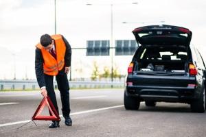 Auch in Finnland ist beim Unfall die Absicherung wichtig.