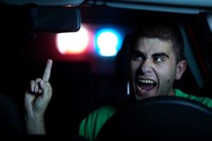 Bei einer Polizeikontrolle sollten Sie sich angemessen verhalten