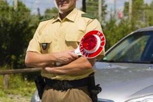 Polizeikontrolle: Auf dem Fahrrad ist eine solche auf möglich.